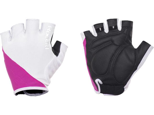 Roeckl Bologna Handschoenen, white/pink